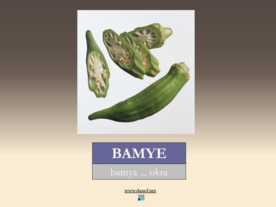 www.danef.net XETERIĆXER Sebzeler... vegetables 56