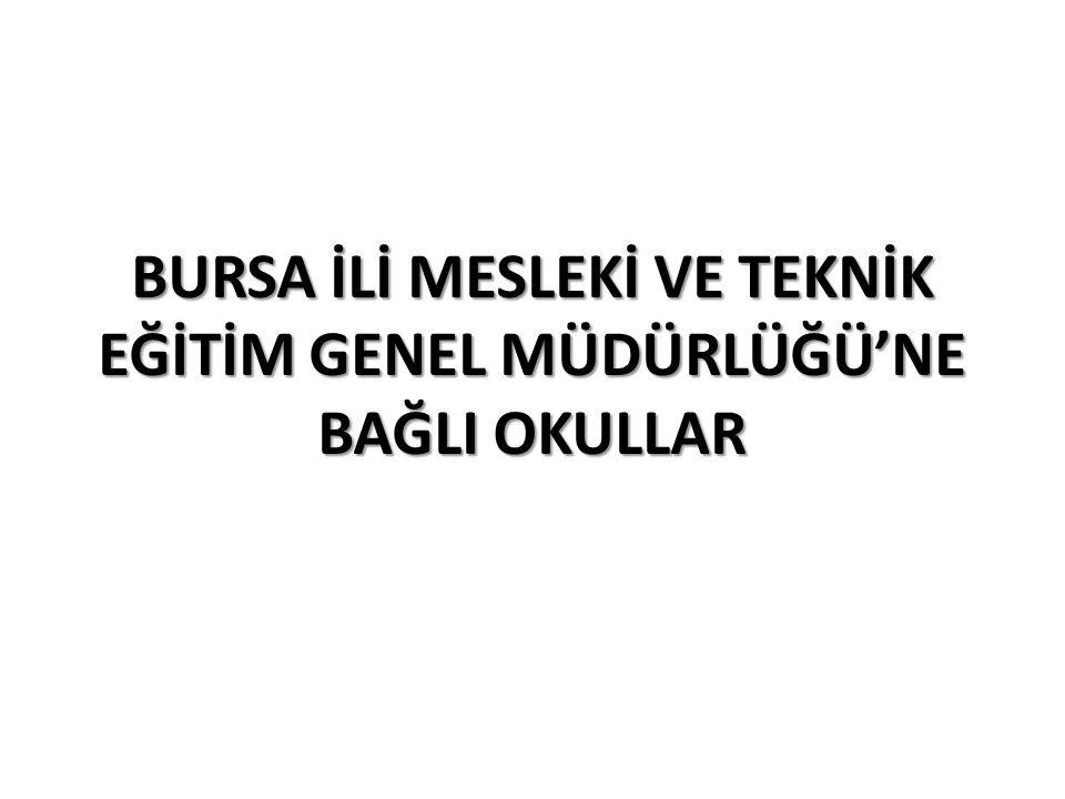 İlçe AdıOkul AdıKontenjanTaban PuanTavan PuanYüzdelik Dilim NİLÜFER Atatürk Teknik ve Endüstri Meslek Lisesi 24335.432369.507352 NİLÜFER Atatürk Teknik ve Endüstri Meslek Lisesi 24345.038382.886319 NİLÜFER Atatürk Teknik ve Endüstri Meslek Lisesi 24338.751400.337341 NİLÜFER Atatürk Teknik ve Endüstri Meslek Lisesi 24338.772373.312341 NİLÜFER M.Kemal Coşkunöz Teknik ve Endüstri Meslek Lisesi 30382.420398.247201 NİLÜFER M.Kemal Coşkunöz Teknik ve Endüstri Meslek Lisesi 30375.314399.321221 NİLÜFER M.Kemal Coşkunöz Teknik ve Endüstri Meslek Lisesi 30363.851399.957256 NİLÜFER M.Kemal Coşkunöz Teknik ve Endüstri Meslek Lisesi 30358.253380.758274