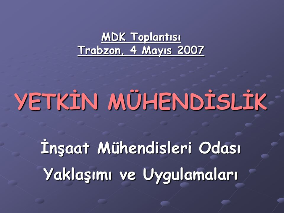 RAPOR NASIL YAZILMALI .*Türk mühendisinin rapor yazmayı hiç sevmediği ortada.