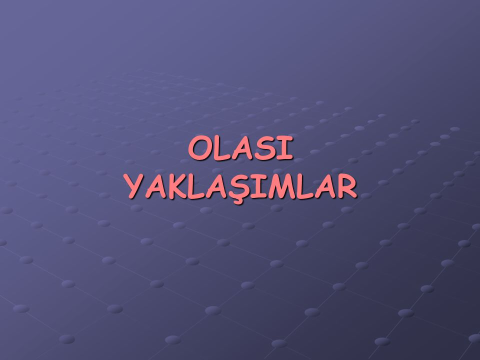 MDK Toplantısı Trabzon, 4 Mayıs 2007 YETKİN MÜHENDİSLİK İnşaat Mühendisleri Odası Yaklaşımı ve Uygulamaları