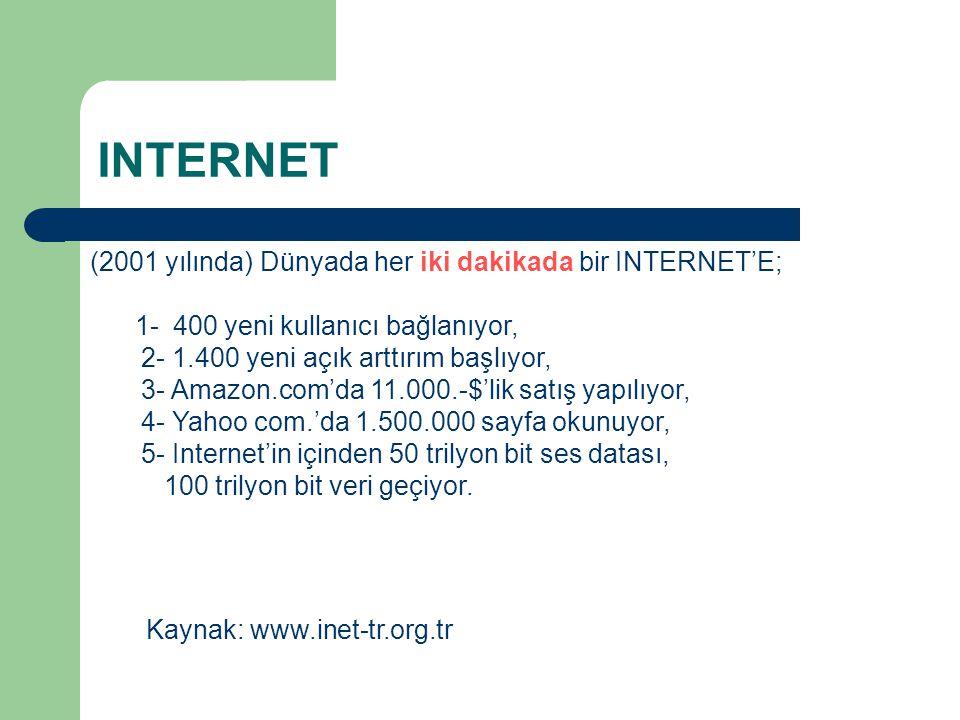 INTERNET'TEN PARA KAZANMAK.