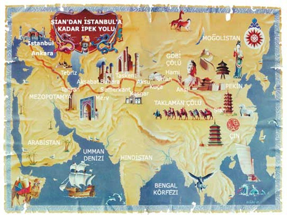 PAZIRIK KURGANI Kazakistan ın başkenti Alma Ata yakınlarında bir kurgandan çıkarılan Altın Adam Heykeli Türk maden sanatının ne kadar geliştiğini gösterir.