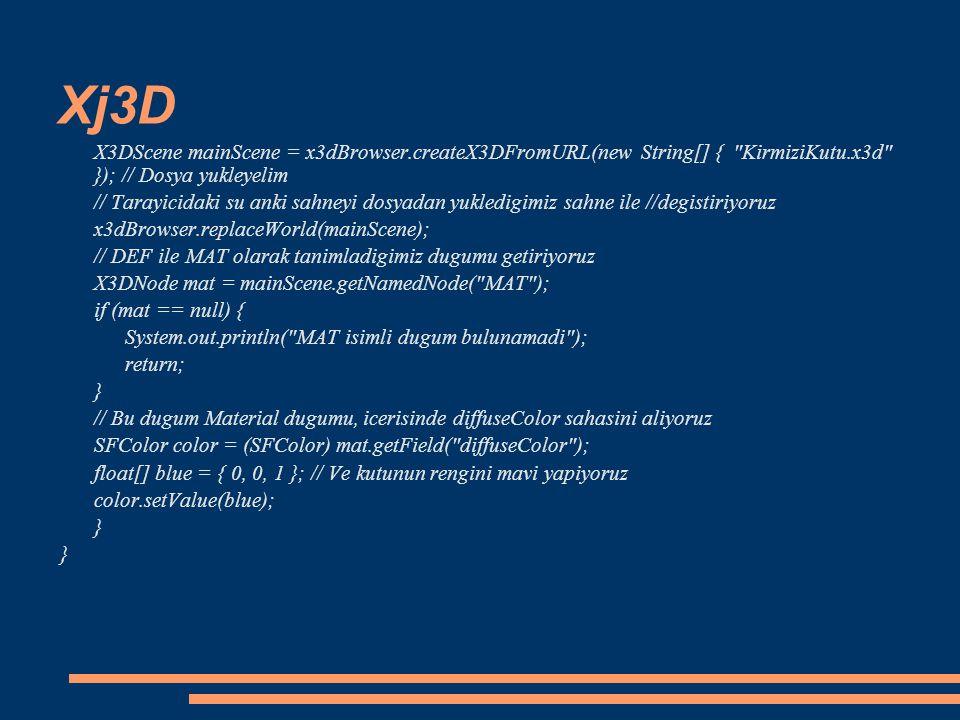 Xj3D X3DScene mainScene = x3dBrowser.createX3DFromURL(new String[] {