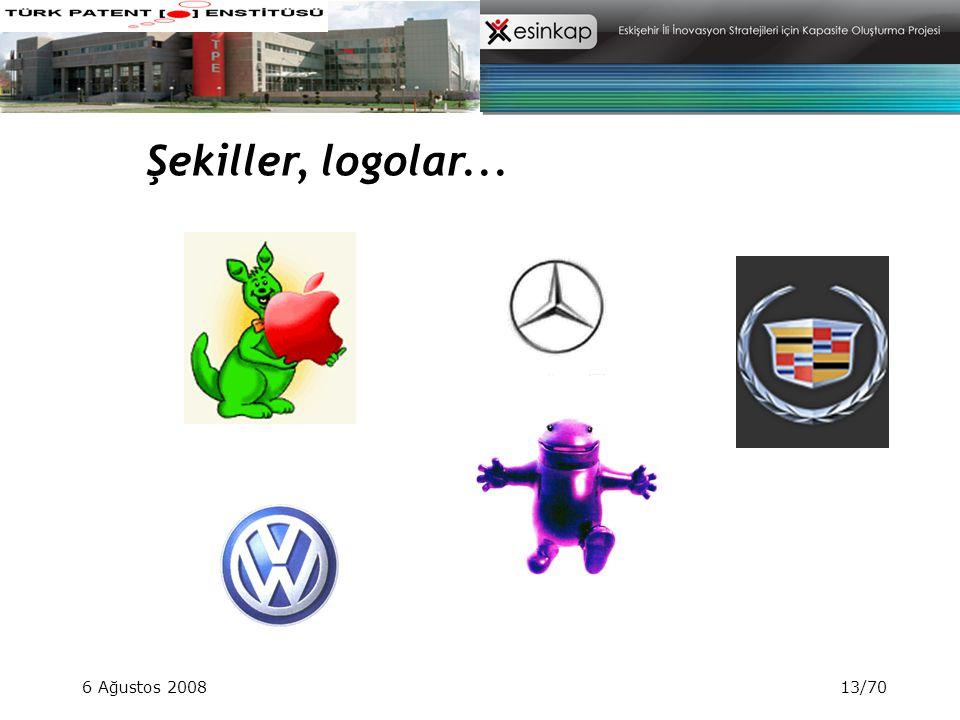 6 Ağustos 200813/70 Şekiller, logolar...