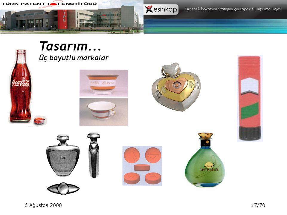 6 Ağustos 200817/70 Tasarım... Üç boyutlu markalar