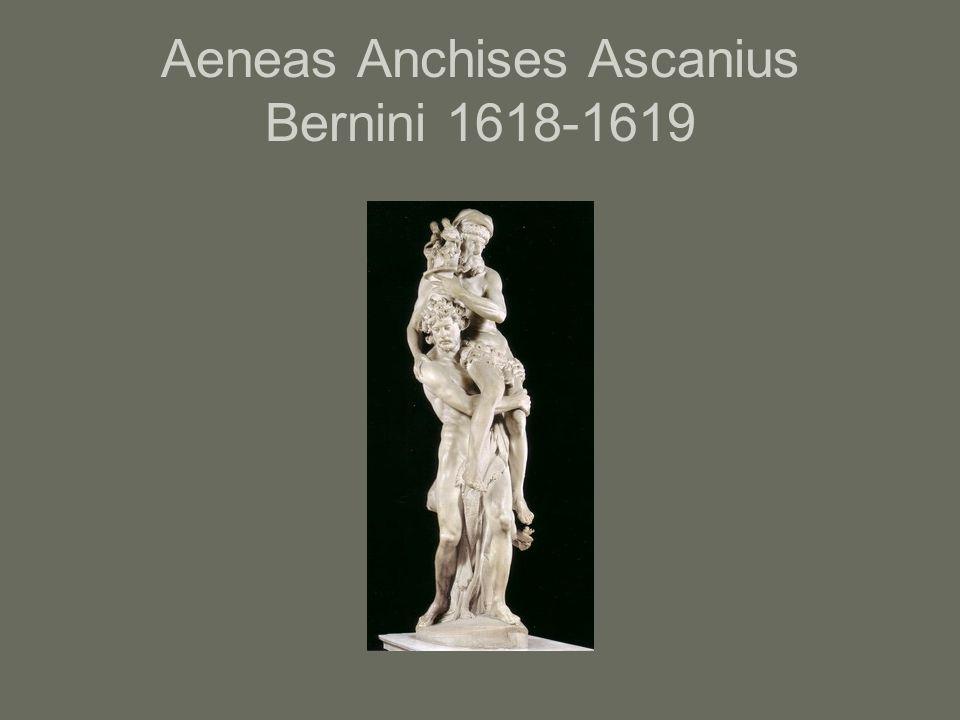 Aeneas Anchises Ascanius Bernini 1618-1619
