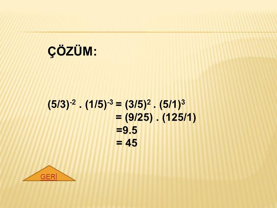 ÇÖZÜM: 12 x-2 = 4 x → 4 3x-2. 3 3x-2 = 4 x → 3 3x-2 = 4 x / 4 3x-2 → 3 3x-2 = 4 x-3x+2 → 3 3x-2 =4 -2x+2 GERİ