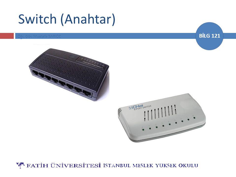 BİLG 121 Switch (Anahtar)