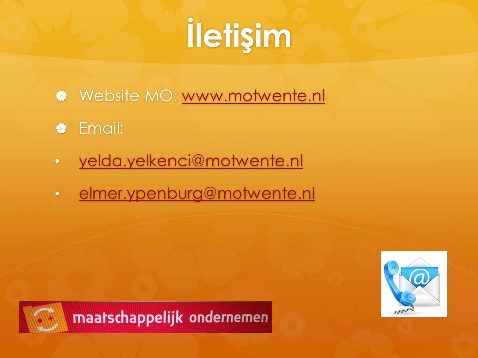 İleti ş im  Website MO: www.motwente.nl www.motwente.nl  Email: yelda.yelkenci@motwente.nl yelda.yelkenci@motwente.nl yelda.yelkenci@motwente.nl elm