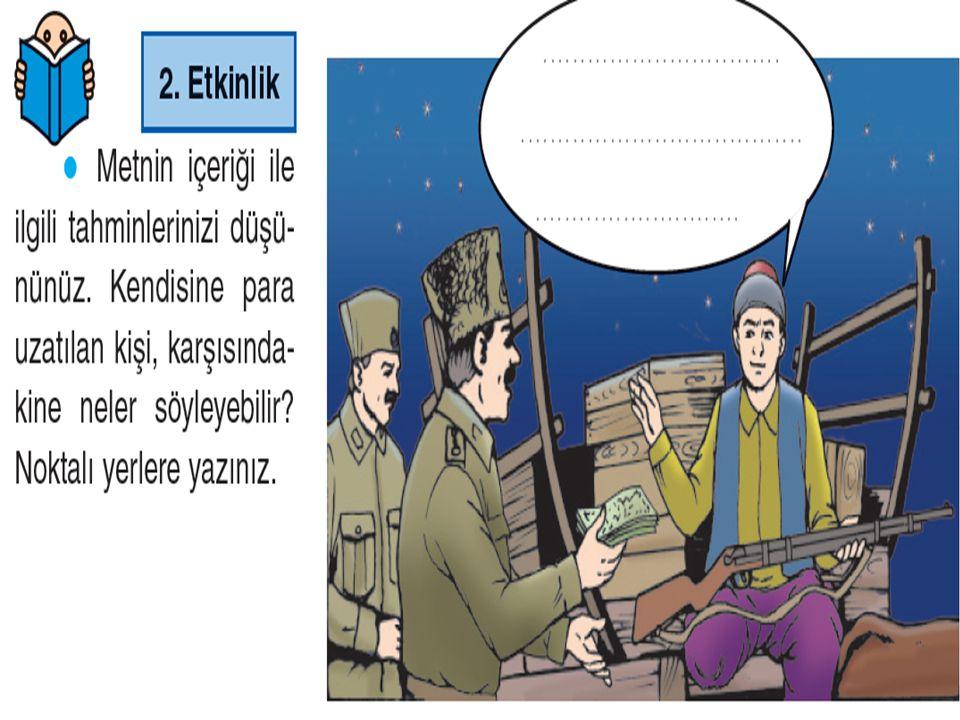 Türk askerine verilen ad.İki tekerlekli öküz arabası.