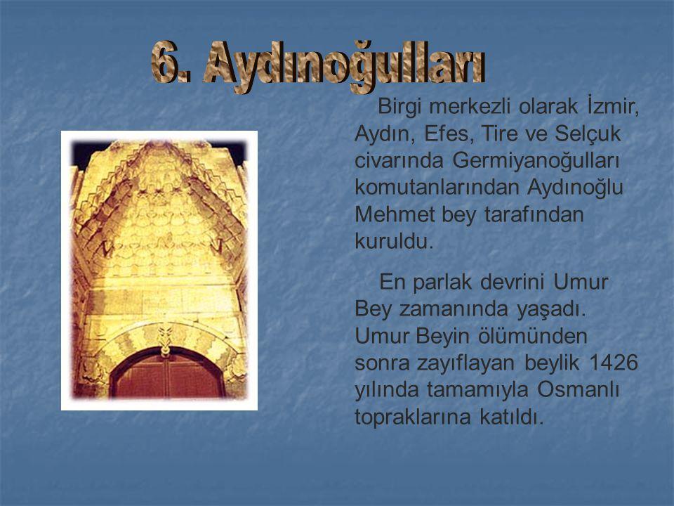 Uluborlu merkez olmak üzere Isparta, Eğirdir ve Antalya çevresinde Feleküddin Dündar Bey tarafından kuruldu. Hamitoğulları topraklarından Eğirdir kolu