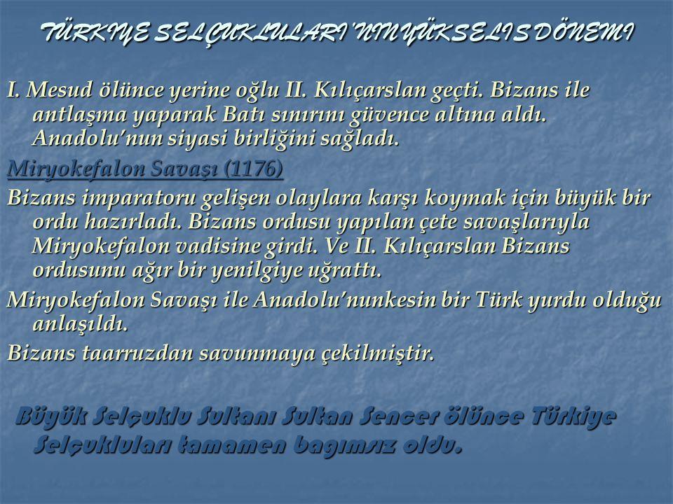 Sultan Mesud zamanında ilk defa Anadolu'ya Türkiye denilmeye başlandı. Sultan Mesud zamanında ilk defa Anadolu'ya Türkiye denilmeye başlandı. Sultan M
