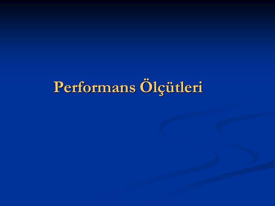 Performans Ölçütleri