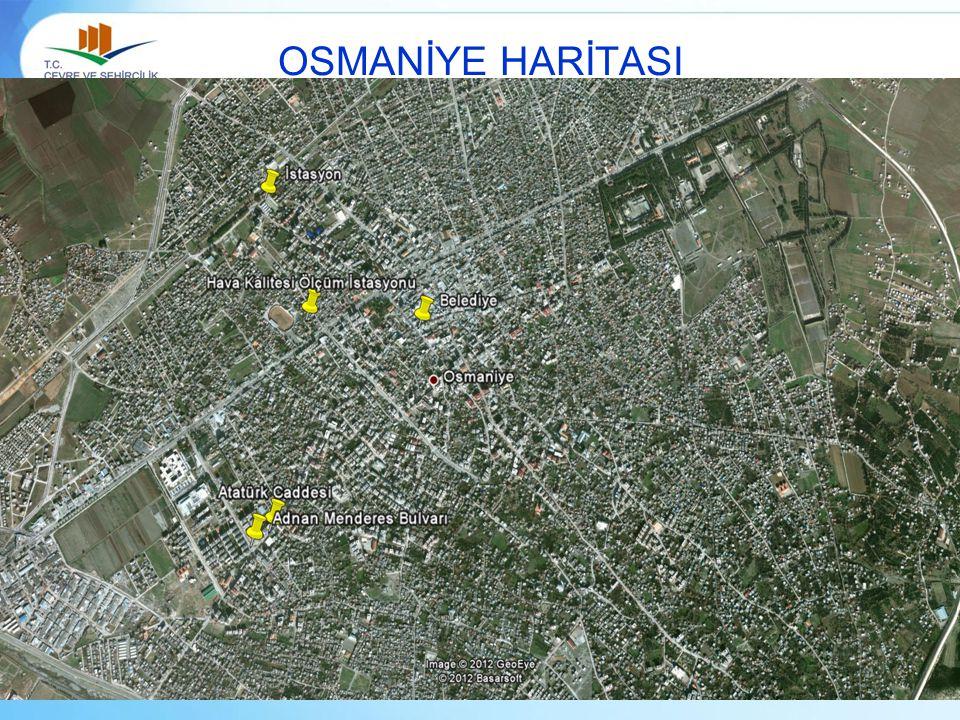 OSMANİYE HARİTASI