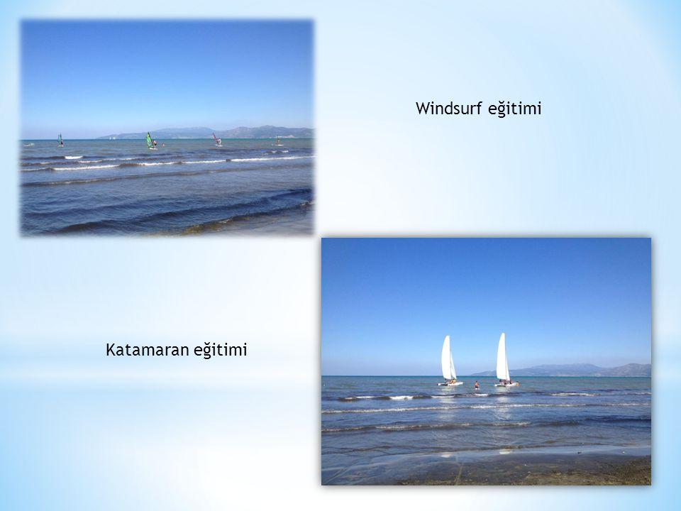 Windsurf eğitimi Katamaran eğitimi