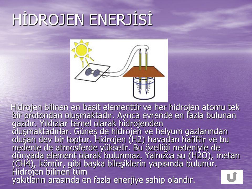 DALGA ENERJİSİ Denizlerde rüzgarların etkisiyle oluşan dalgalardan enerji elde edilmektedir. Dalga enerjisi suya yerleştirilen tribünlerle veya dalgal