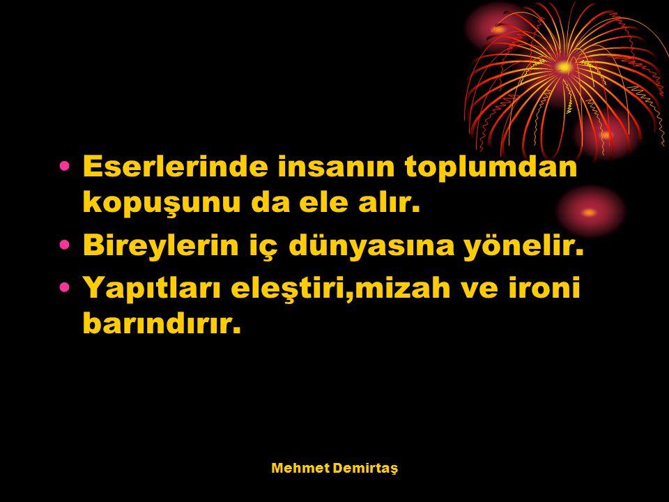 Mehmet Demirtaş Atay'ın ölümünden sonra Atay hakkında yazılan kitaplar.