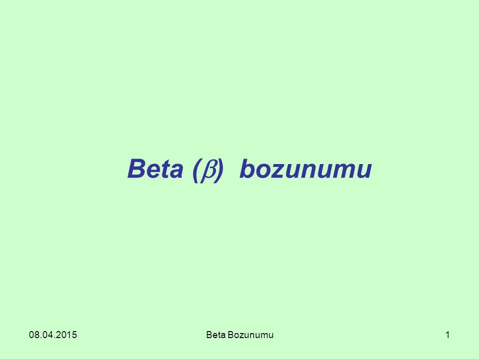 08.04.2015Beta Bozunumu1 Beta (  ) bozunumu