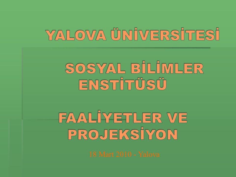18 Mart 2010 - Yalova