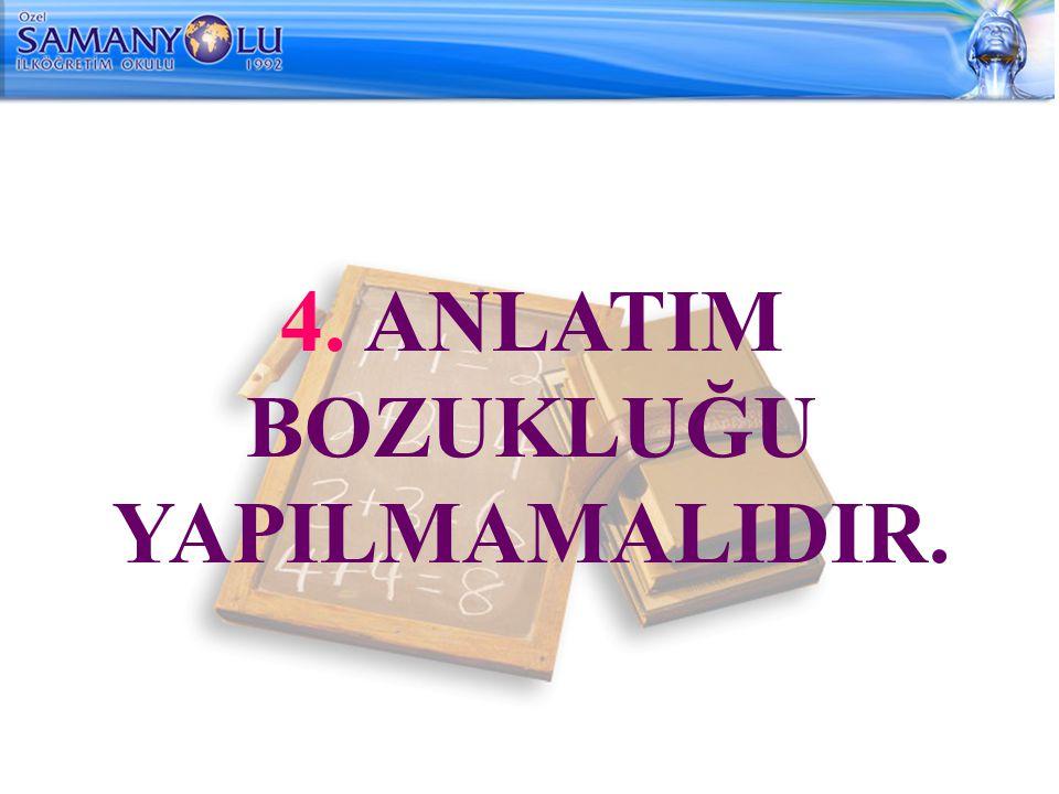 4.BENZETME: