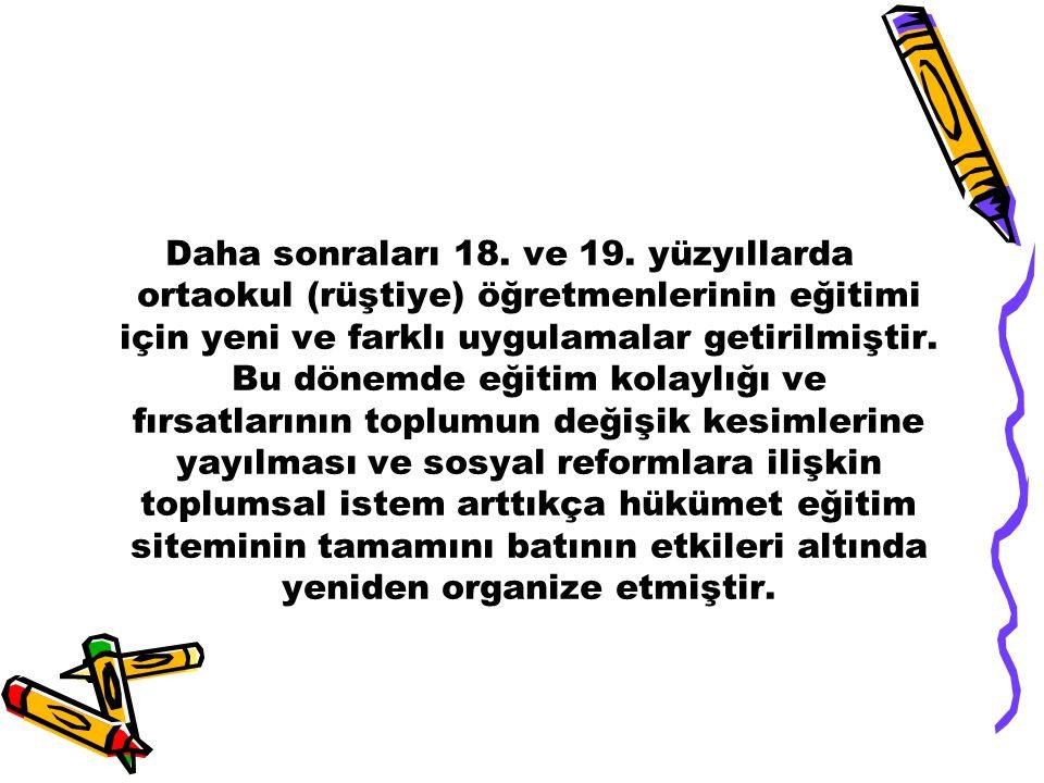 5.ACAR,H.(2001) ÖĞRETMEN YETİŞTİRME VE KALİTE PANELİ M.E.BASIMEVİ.ANKARA(S.119- 139) 6.YÜKSEK ÖĞRETİM KURULU BAŞKANLIĞI, Cumhuriyet Döneminde Öğretmen Yetiştirmenin Tarihi Gelişimi ile ilgili rapor,ANKARA,1998,S.3.