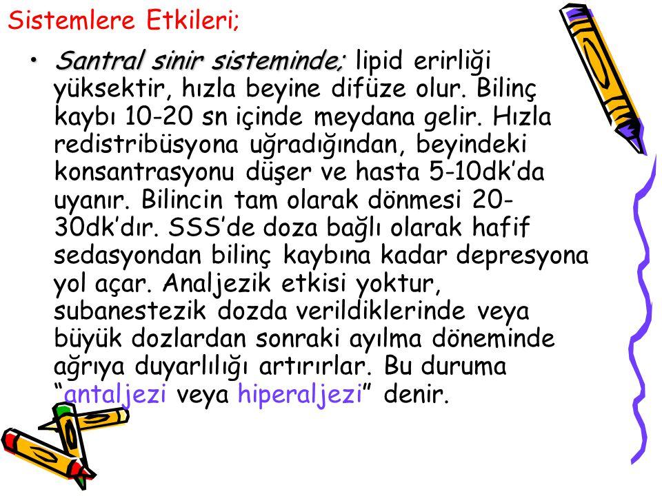 KAYNAKLAR 1.Kayhan Z: Klinik Anestezi.