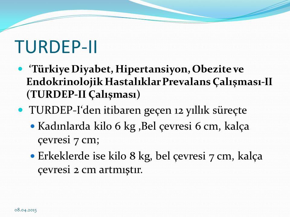 Tip 2 Diyabet niçin arttı.