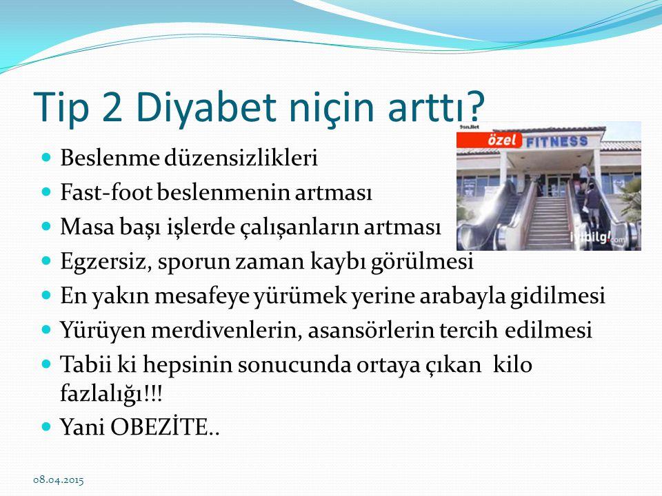 Tip 2 Diyabetin sebepleri nelerdir.
