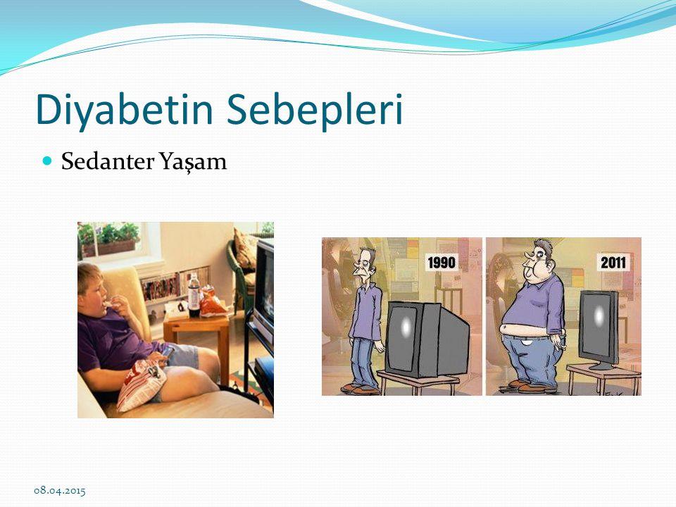 Diyabetin Sebepleri 08.04.2015 Yanlış beslenme alışkanlıkları