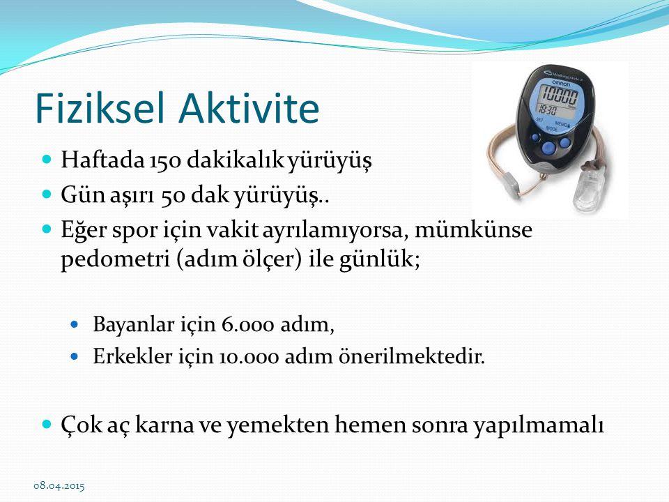 Diyabet ve yapay tatlandırıcılar Enerji içermeyen tatlandırıcıların FDA tarafından günlük önerilen dozları; Aspartam: 19 tb/gün Sakkarin: 8 tb/gün Diyabeti olmayan obez ve kilolu kişilerde kilo kaybı sağlamak veya diyabeti önlemek için önerilmemektedir.