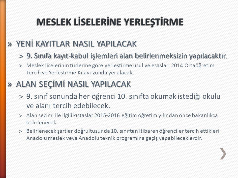 » 2014-2015 öğretim yılında 9.