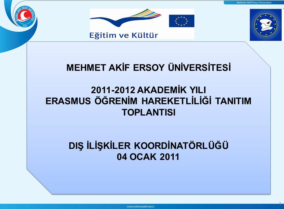 2 Avrupalı yükseköğretim kurumlarının birbirleri ile işbirliği yapmalarını teşvik etmeye yönelik bir Avrupa Birliği programıdır.