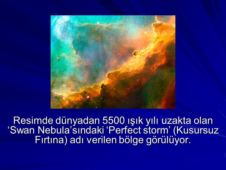 Astronotların 8.favori karesinde samanyolundan bir yıldızın muhteşem görüntüsü resmediliyor.