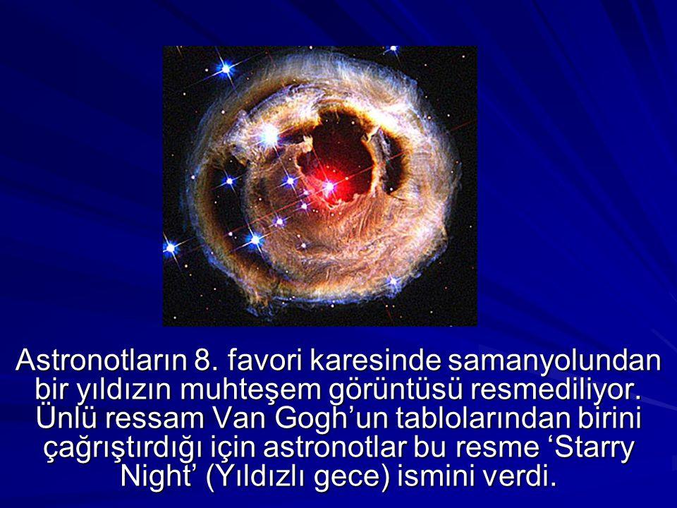 Astronotların 9.