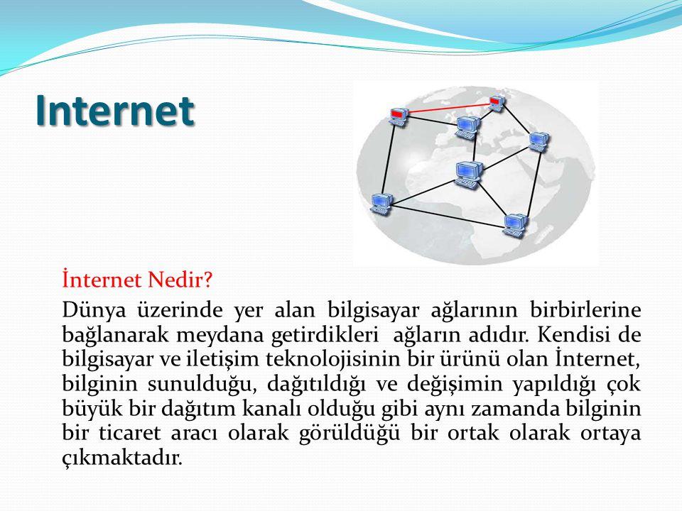 İnternet'in Sohbet Amacıyla Kullanımı Sohbet yazılımlarının elektronik posta yazılımlarından farkı, iki tarafında aynı anda bilgisayarın başında olmasıdır.