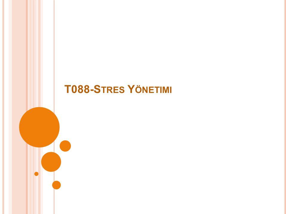 T088-S TRES Y ÖNETIMI