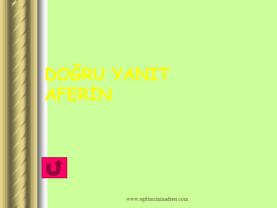 2)Aşağıdakilerden hangisi hayvansal besin değildir? Yumurta Et Bal Nohut A) B) C) D) www.egitimcininadresi.com