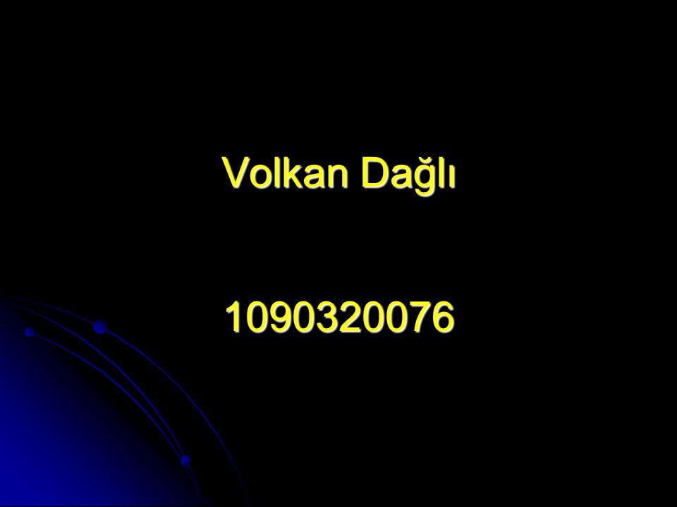 Volkan Dağlı 1090320076