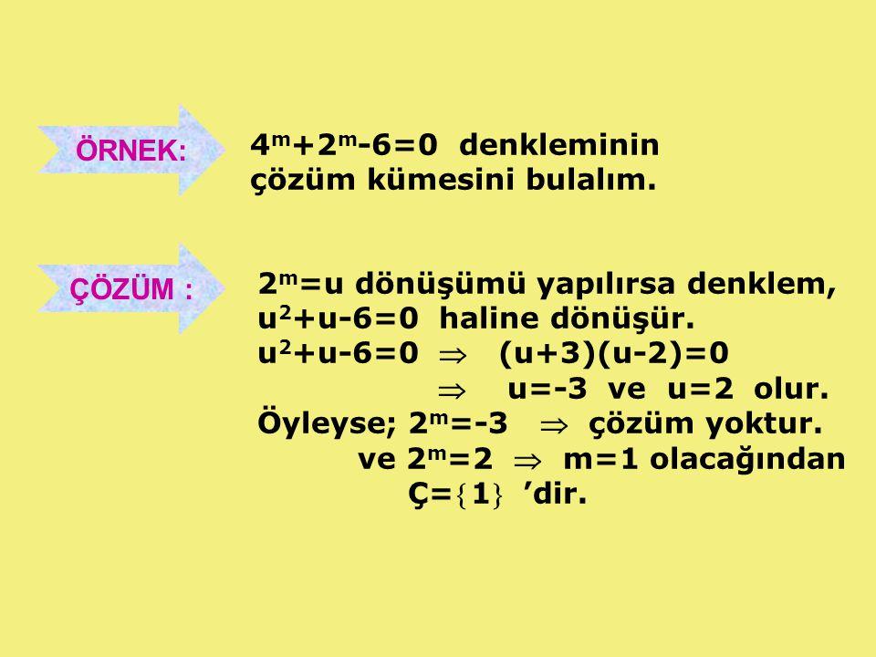 2.DERECE DENKLEMİN KÖKLERİ VE KATSAYILARI ARASINDAKİ BAĞINTILAR ax 2 + bx + c = 0 ikinci dereceden denkleminin kökleri, x 1 ve x 2 olmak üzere; a c x.x a b xx 21 21  