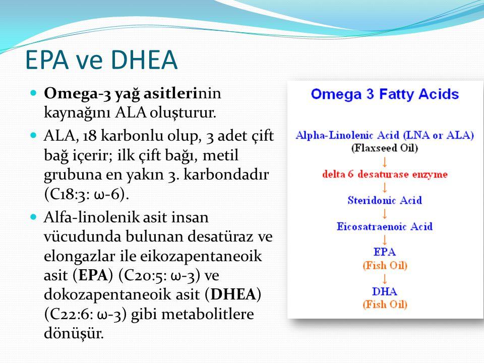 Besinsel ω-3 kaynakları Omega-3 kaynakları hayvansal ve bitkisel olmak üzere ikiye ayrılır. Hayvansal omega-3 kaynakları aktif metabolit olarak eikoza