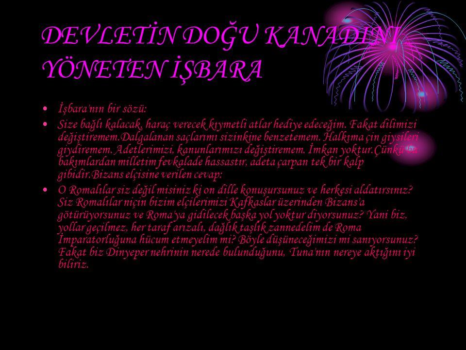 GÖKTÜRKLERİN TÜRK TARİHİNE KATKILARI Türk adını devlet isminde ilk defa Göktürkler kullanmıştır.