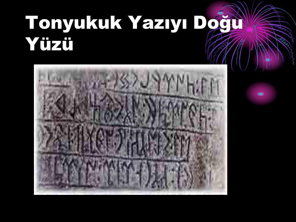 Tontukuk Yazıtı - İkinci Taş (Doğu Yüzü)