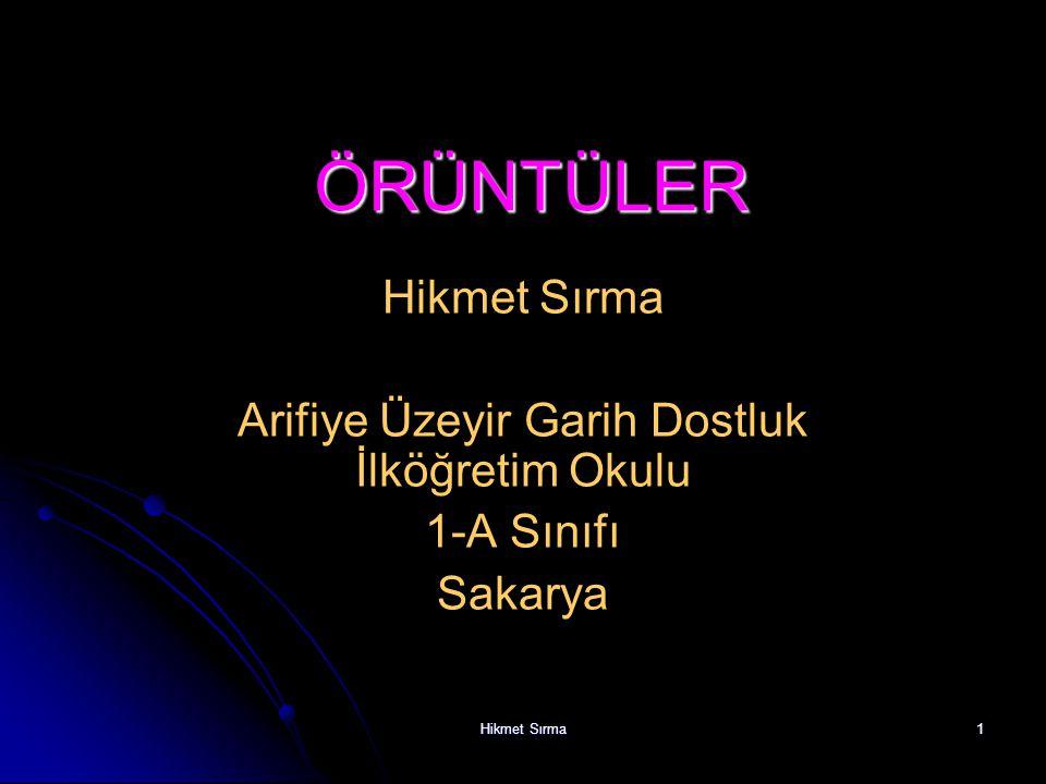 Hikmet Sırma21 12345678910