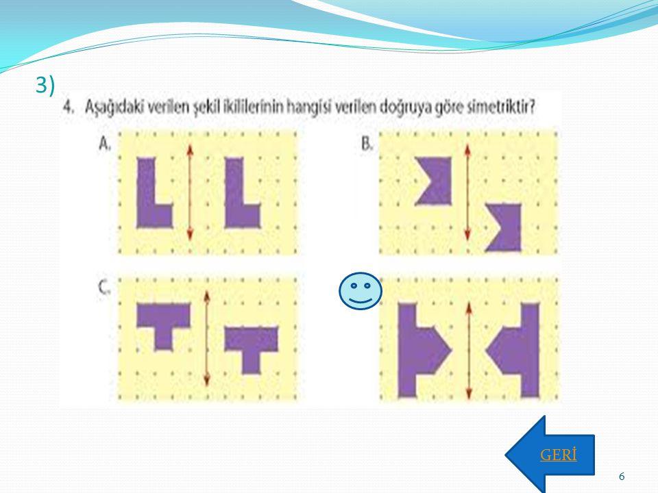 3) GERİ 6