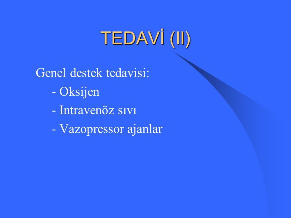TEDAVİ (I) AMAÇ: Ölümü engellemek Morbiditeyi azaltmak Tromboembolik pulmoner hipertansiyonu engellemek
