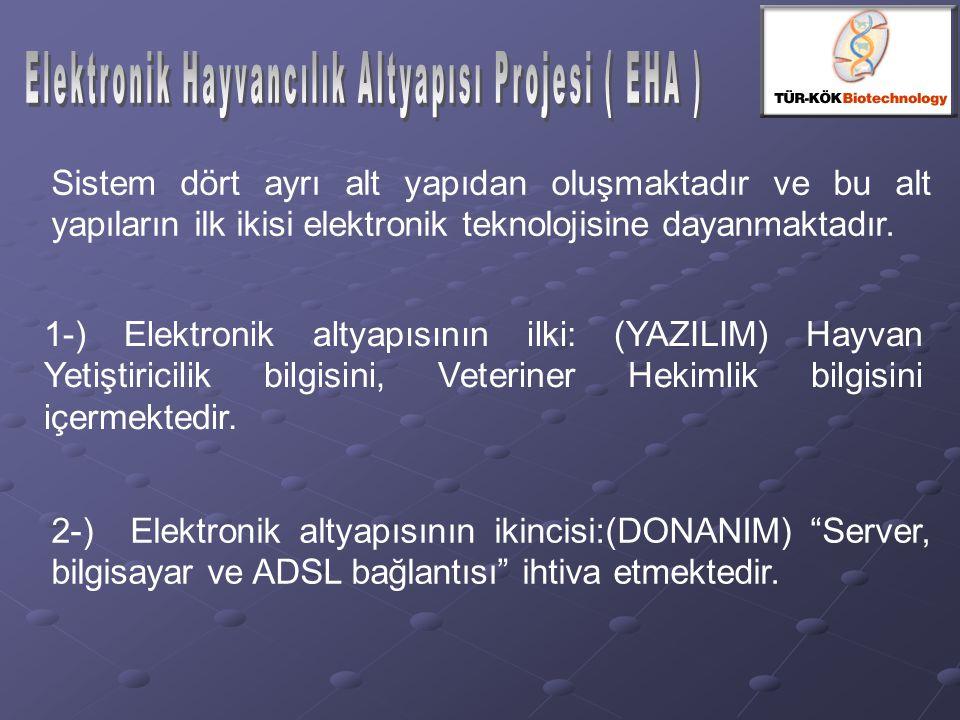Sistem dört ayrı alt yapıdan oluşmaktadır ve bu alt yapıların ilk ikisi elektronik teknolojisine dayanmaktadır. 1-) Elektronik altyapısının ilki: (YAZ