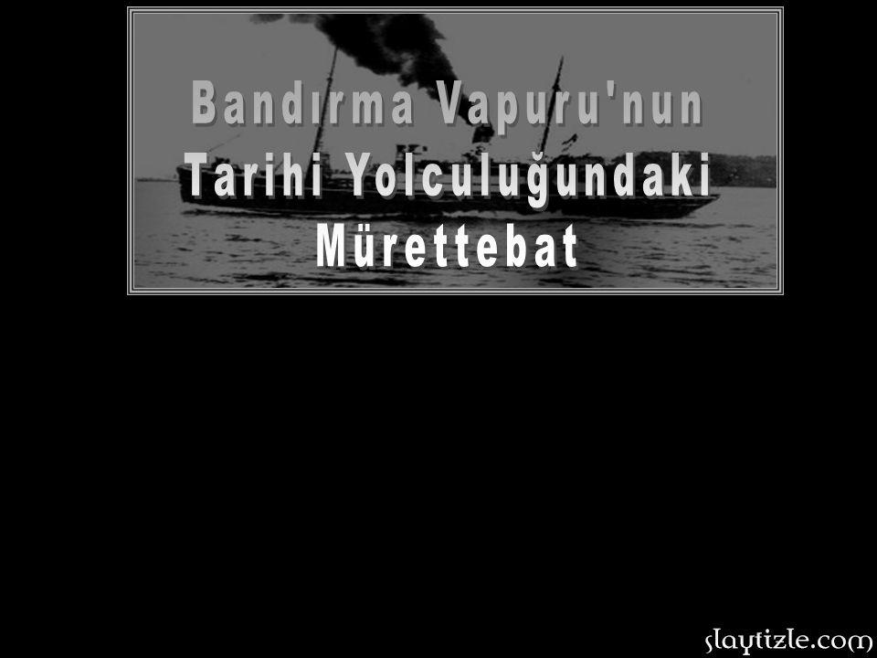 Mustafa Kemal, üç günlük yolculuk öncesi son hazırlıklarını gerçekleştirdi ve Gemi kaptanı İsmail Hakkı Durusu ile birlikte 18 kişilik mürettebat Band
