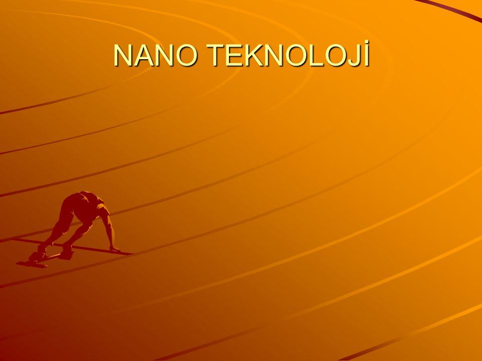 Nano teknoloji, atomların tek tek kullanılarak daha küçük hale getirebilmek için kullanılan alandır.