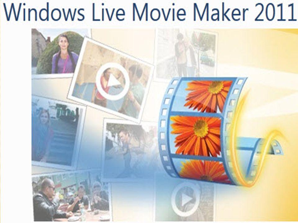  video ve fotoğrafları filmlere dönüştürür  Movie Maker özel efektleri ve temaları kullanarak çarpıcı filmler oluşturur  Video'yu facebook ya da youtube gibi paylaşım sitelerinda paylaşır