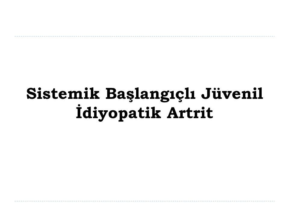 Sistemik Başlangıçlı Jüvenil İdiyopatik Artrit